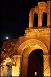 photo la pleine lune sur la Porte d'Arroux